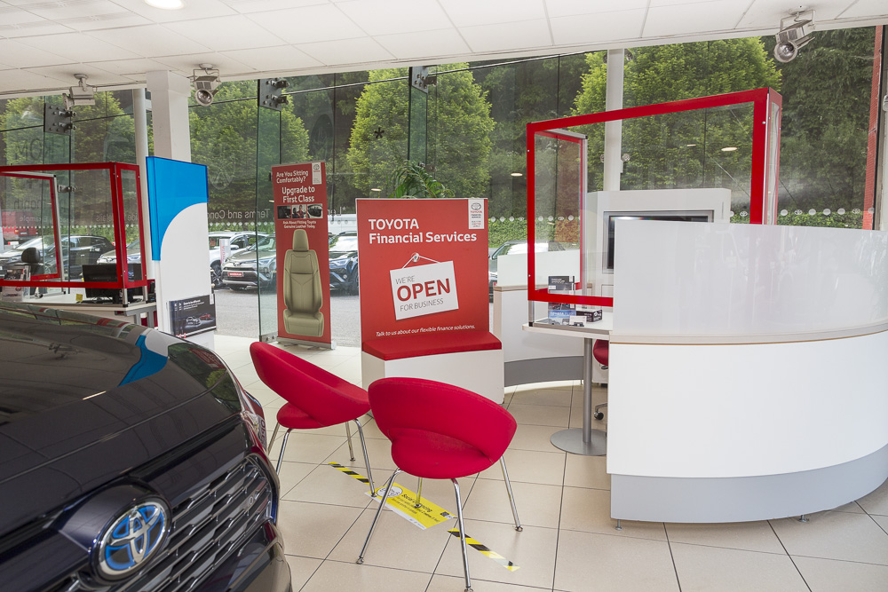 A new way of doing business here at Grandons Toyota