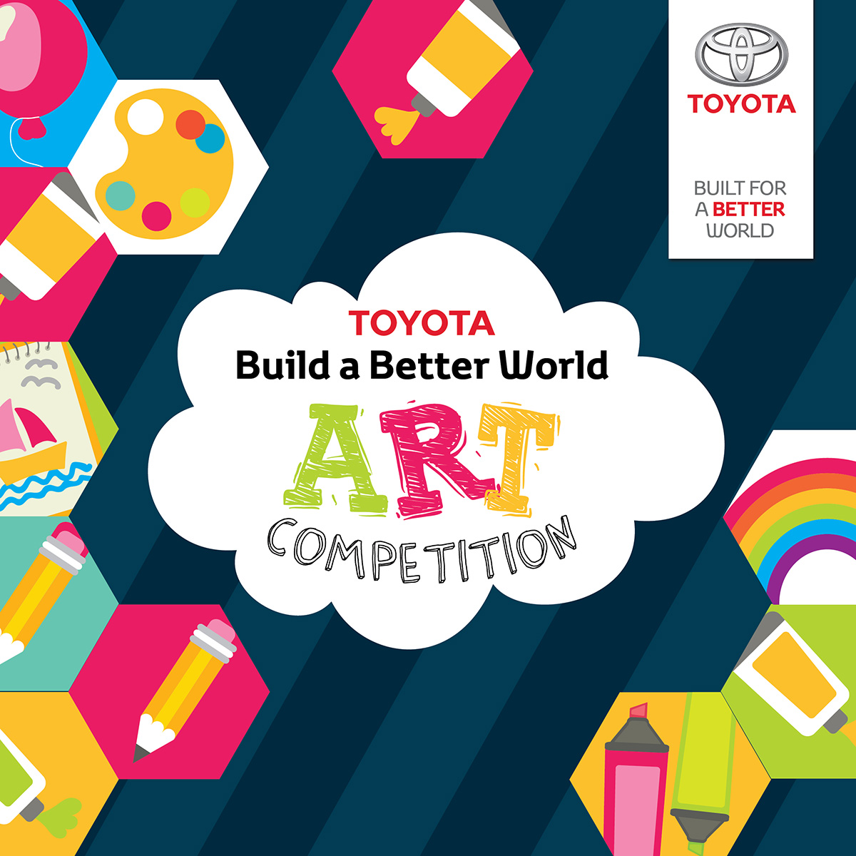 Build a Better World Art Competition!