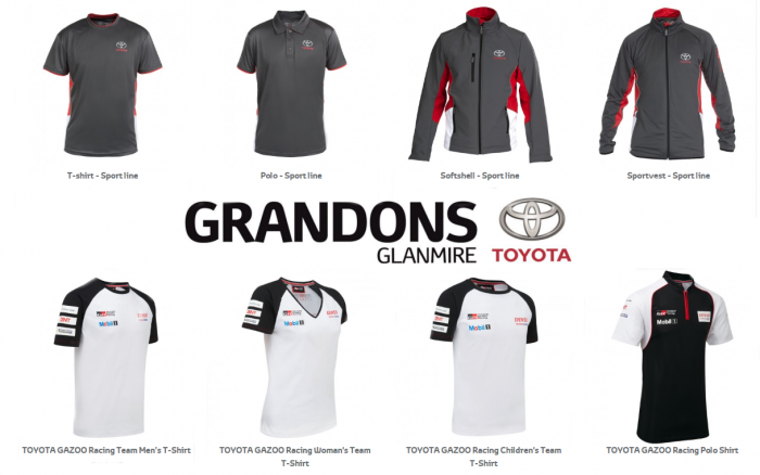 New Toyota Merchandise Collection Lifestyle Jackets