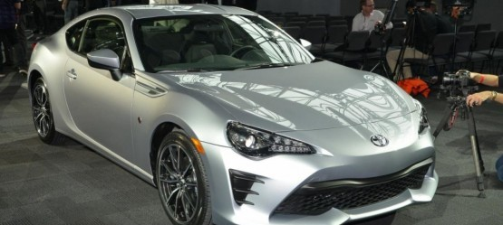 2017 Toyota 86 at 2016 New York Auto Show