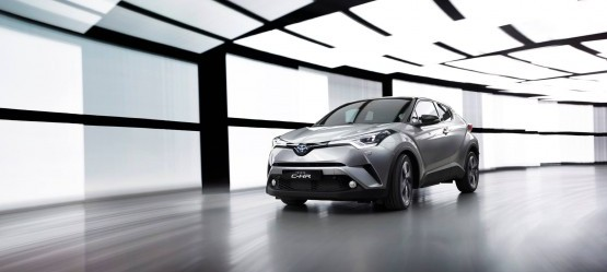 New Toyota C-HR Unveiled in Geneva