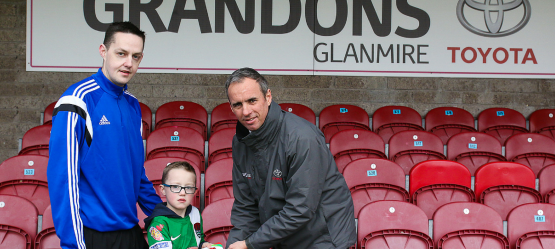 Winner of our Cork City FC Family Season Ticket Competition