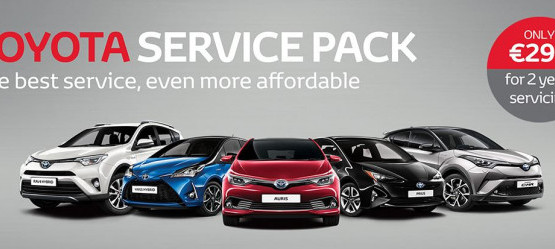 Toyota Service Pack From €299