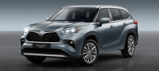 All-New Toyota Highlander 7-Seater Hybrid