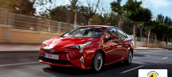 New Toyota Prius awarded 5-star Euro NCAP safety rating