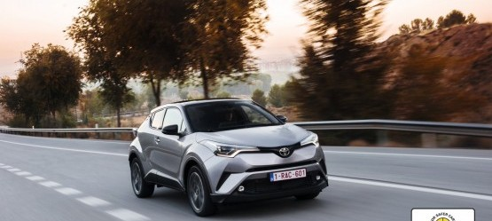 The New Toyota C-HR awarded top five-star* rating in Euro NCAP Safety Testing