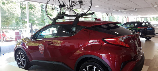 New Toyota Cycle Carrier