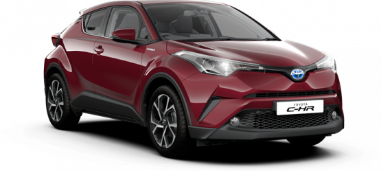 New Sport Grade added to The Toyota CHR Hybrid Range