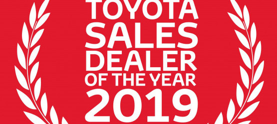 Grandons Toyota Cork | Toyota Dealer of the Year 2019 Awards