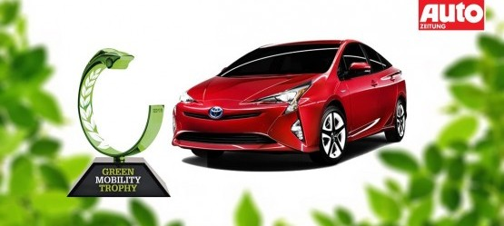 Toyota Prius - Green Car of the Year 2016
