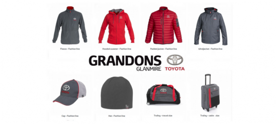 NEW Toyota Merchandise Collection | Lifestyle | Jackets | Luggage